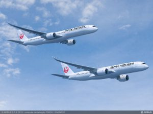 Airbus' A350-900 and A350-1000 will provide new customer Japan Airlines with efficient, next-generation widebody jetliners – planned for service entry with the Japanese carrier from 2019