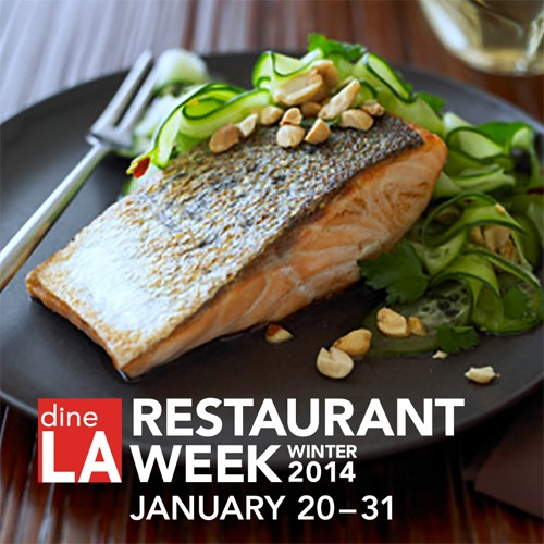 Make plans to enjoy Los Angeles' Restaurant Week, dineLA, from January 20 through 31, 2014.