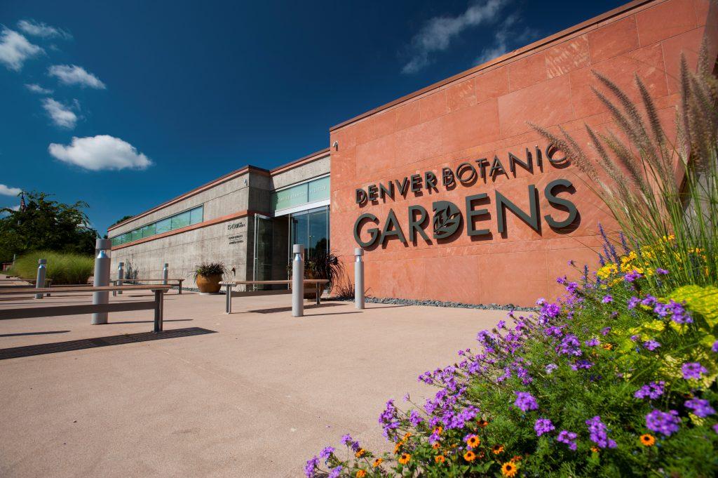 Entrance at the Denver Botanic Gardens.  Image courtesy of the Denver Water Blog.