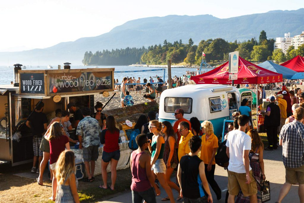 Food trucks are an essential part of the Celebration of Light.  Image: Celebration of Light.