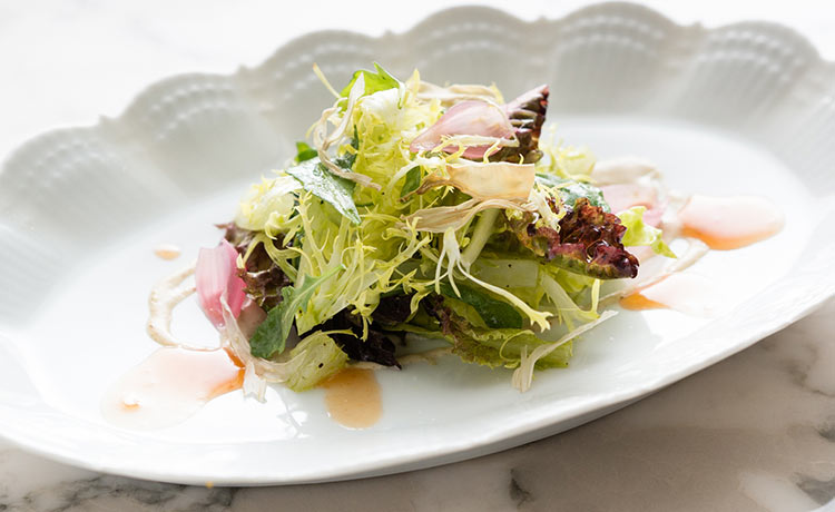 A little gem salad from SHARE. Image courtesy of Princess Cruises.