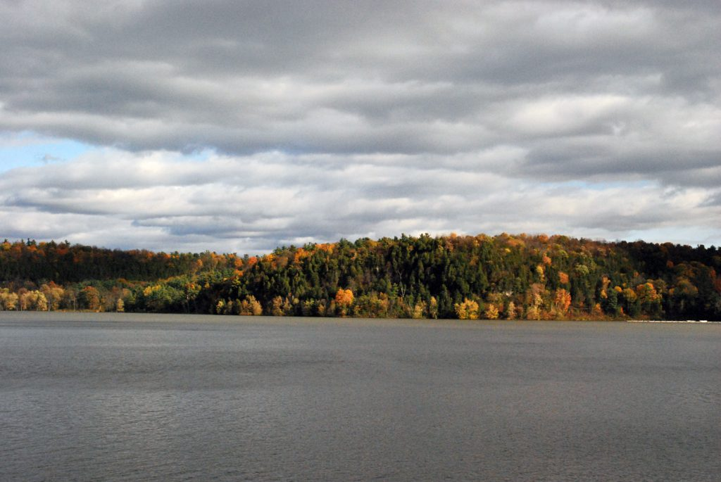 The Adirondack and scenery between Ticonderoga and Whitehall, New York. Photo by Flickr User: TheWestEnd.
