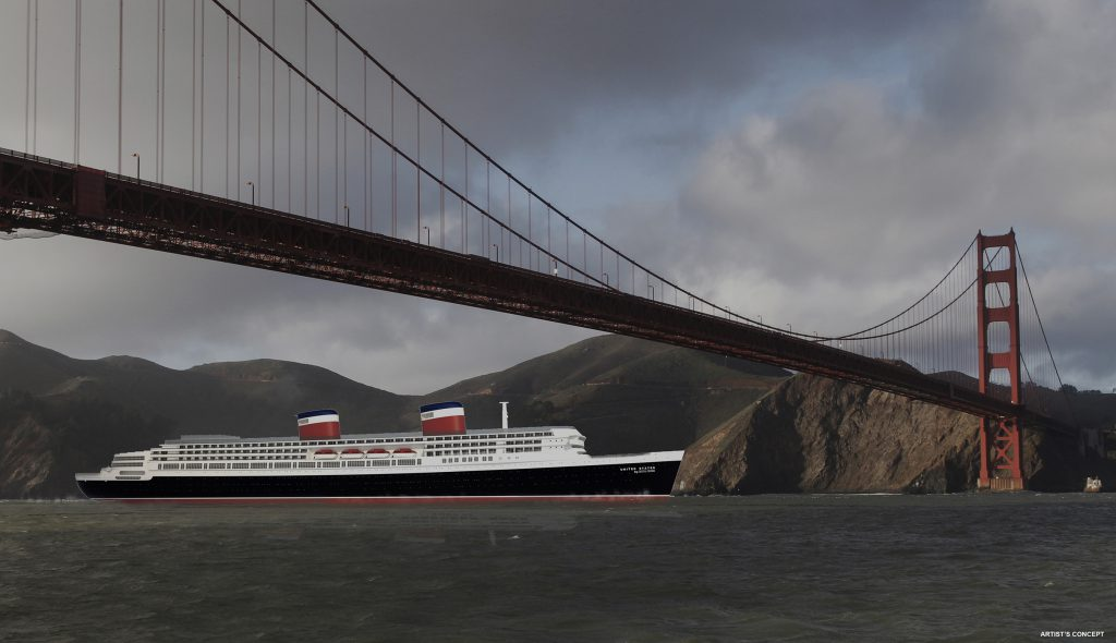 Crystal will examine new itineraries for the 60,000-gross-ton United States by Crystal Cruises including traditional transatlantic voyages from NYC and other key U.S. ports, plus international voyages.