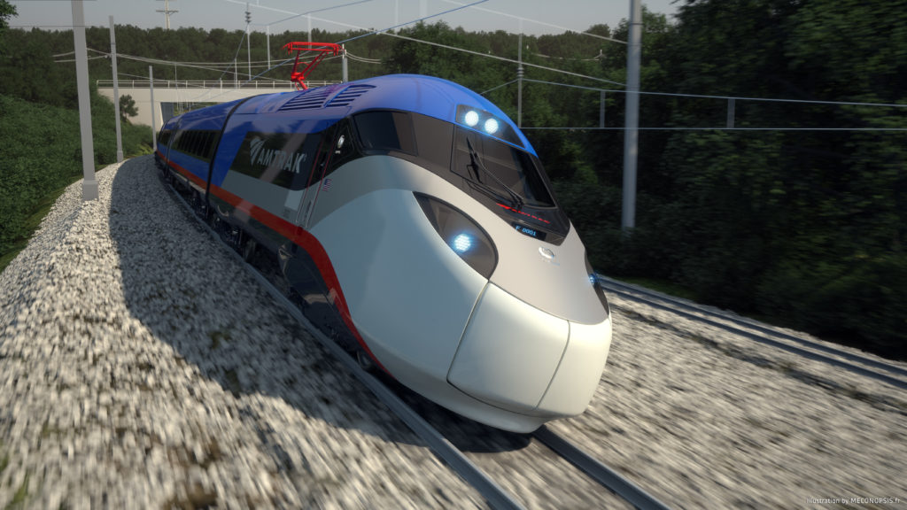© Alstom SA, 2016 © Meconopsis by Trimaran. All rights reserved. Avelia Liberty high-speed train.