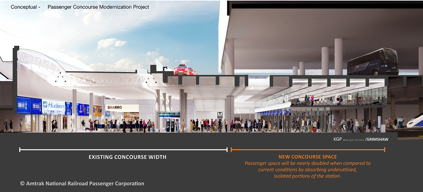 Artist rendering of DC Union Station