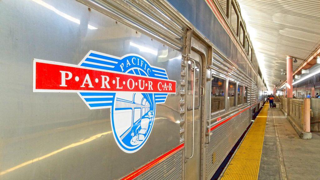 Amtrak Pacific Parlour Car