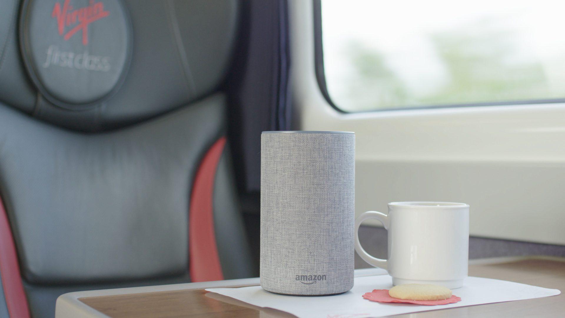 Virgin Trains and Amazon Alexa