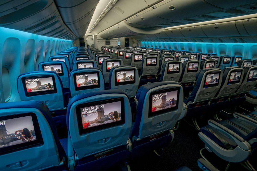 Delta's refreshed 777 aircraft
