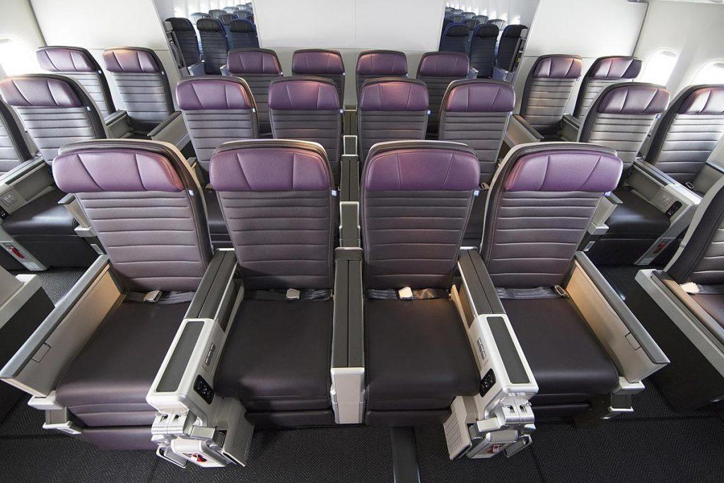 United Airline Premium Plus cabin