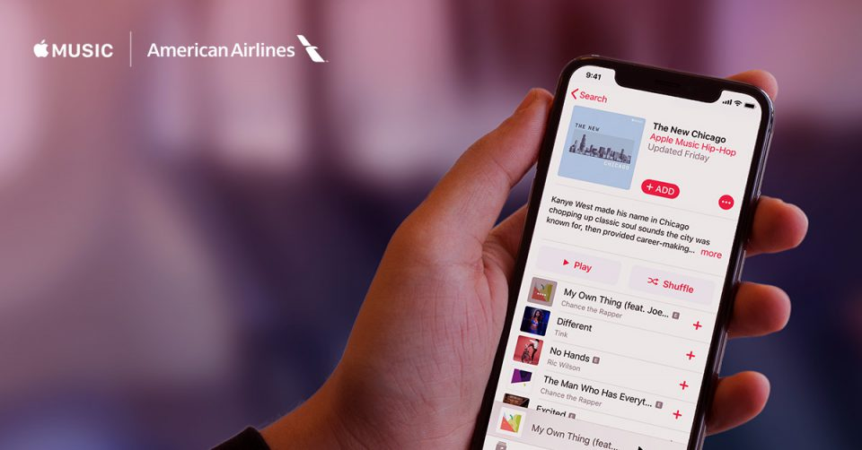 Music to Your Ears: American Airlines Customers Can Access Apple