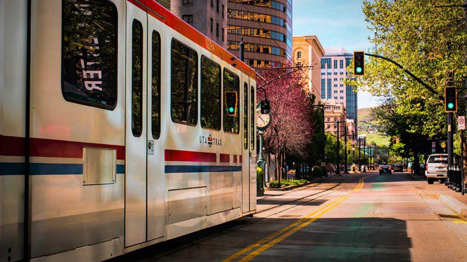 Salt Lake City light rail