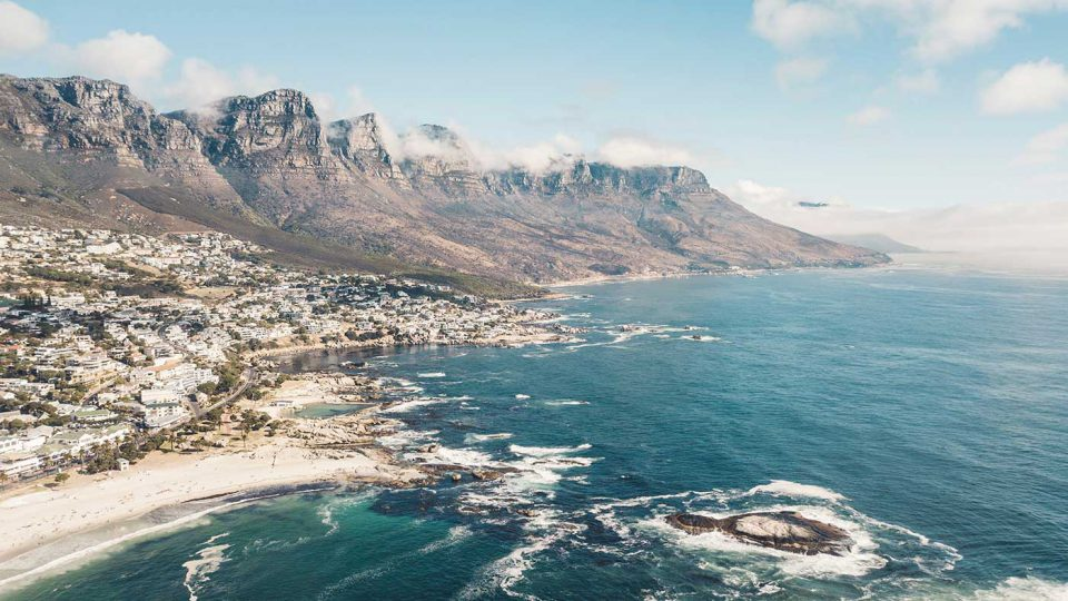 Cape Town, SA coastline