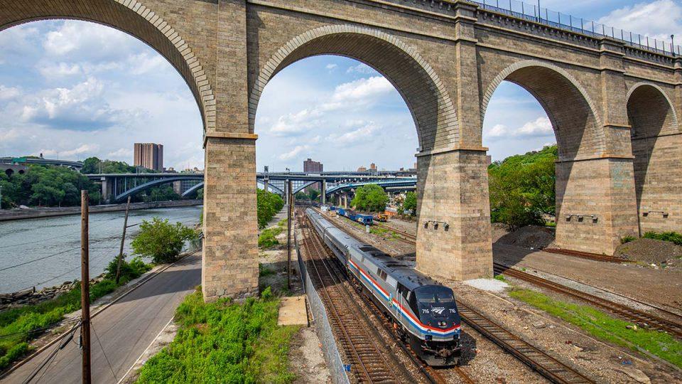 Amtrak in New York City