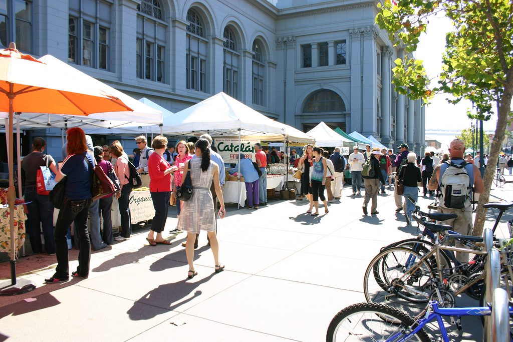 Farmer's Market at the Ferry Building