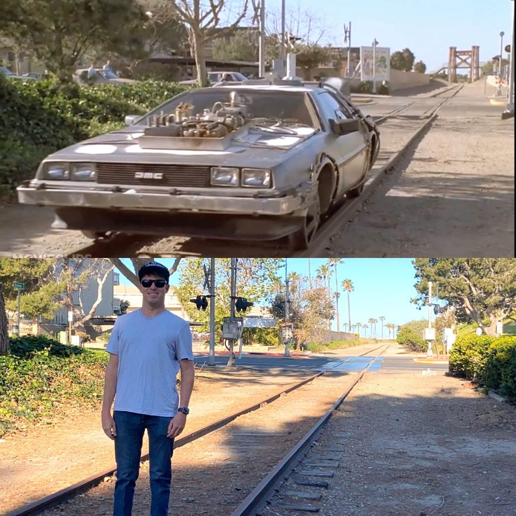 Back to the Future movie location