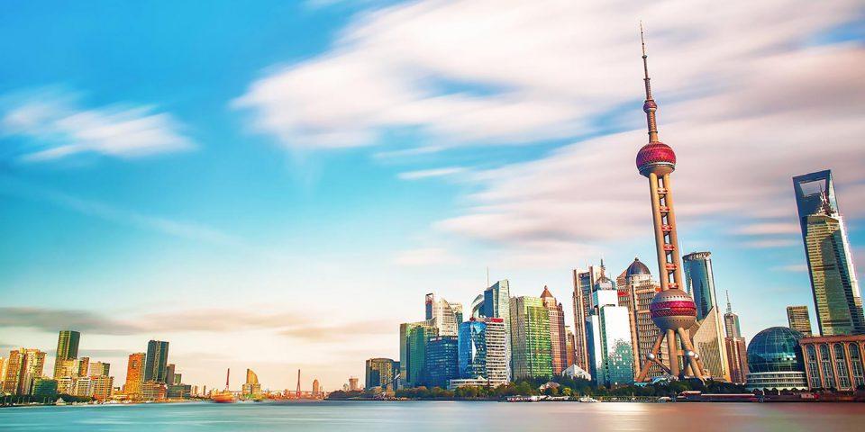 Shanghai, China skyline